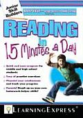 Reading in 15 Minutes a Day With Free Online Practice Exercises Access Code