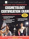 Cosmetology Certification Exam Cover