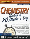 Chemistry Review in 20 Minutes a Day (Skill Builders)