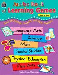 Jumbo Book of Learning Games: Over 250 Games, Puzzles, and Brain Teasers