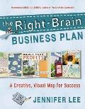 The Right-Brain Business Plan: A Creative, Visual Map for Success Cover