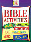 Bible Activities and More: Mazes, Dot to Dot and More (Young Reader's Christian Library)