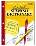Websters Notebook Spanish Dictionary