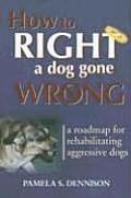 How to Right a Dog Gone Wrong A Road Map for Rehabilitating Aggressive Dogs