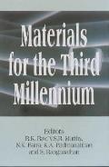 Materials for the third millennium