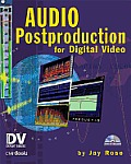 Audio Postproduction for Digital Video with CDROM