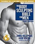 The Body Sculpting Bible for Men, Third Edition: The Way to Physical Perfection (Body Sculpting Bible) Cover