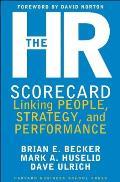 HR Scorecard Linking People Strategy & Performance