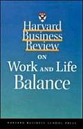 Harvard Business Review on Work & Life Balance