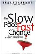 The Slow Pace of Fast Change: Bringing Innovations to Market in a Connected World