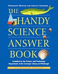 Handy Science Answer Book - Centennial Edition (Rev 03 Edition) Cover