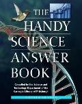 Handy Science Answer Book