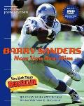 Barry Sanders Now You See Him...: His Story in His Own Words with DVD Cover