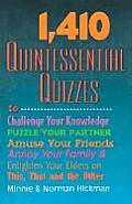 1410 Quintessential Quizzes