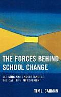 The Forces Behind School Change: Defining and Understanding the Call for Perfection
