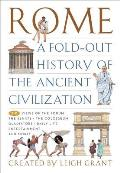 Rome: A Fold-Out History of the Ancient Civilization Cover