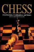 Chess: 5334 Problems, Combinations, and Games Cover
