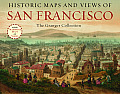 Historic Maps & Views of San Francisco 24 Frameable Maps & Views
