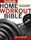 The Men's Health Home Workout Bible Cover