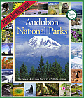 Audubon National Parks Picture-A-Day Wall Calendar Cover