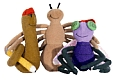 Diary of a Worm &amp; Friends Finger Puppet Playset: 3 Puppets, 5&quot; Each Cover