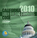 2010 California Green Building Standards Code, Title 24 Part 11 (10 Edition)