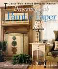 Decorating With Paint & Paper Decoupage Sponging Stenciling & More