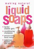 Making Natural Liquid Soaps Cover