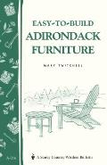 Easy To Build Adirondack Furniture Cover