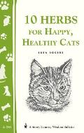 10 Herbs for a Happy Healthy Cat