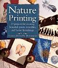 Nature Printing With Herbs Fruits & Flowers