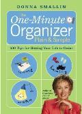 One Minute Organizer Plain & Simple
