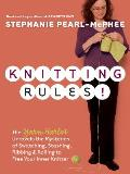 Knitting Rules!: The Yarn Harlot's Bag of Knitting Tricks Cover