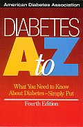 Diabetes a To Z 4TH Edition