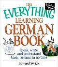Everything Learning German Book Speak Write & Understand Basic German in No Time