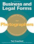 Business & Legal Forms for Photographers With CD ROM