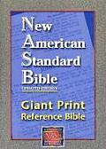 Bible NASB Giant Print Reference Red Letter Black Updated