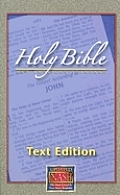 Large Print Text Bible-NASB