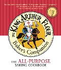 The King Arthur Flour Baker's Companion: The All-Purpose Baking Cookbook Cover