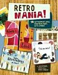 Retro Mania 60 Hip Handmade Cards Scrapbook Pages Gifts & More