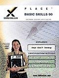 Place Basic Skills 90 Teacher Certification Test Prep Study Guide