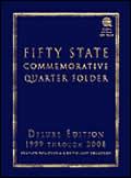 Fifty State Commemorative Quarter Folder: 1999 Through 2008, Complete Philadelphia & Denver Mint Collection