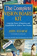 Complete Vision Board Kit Using the Power of Intention & Visualization to Achieve Your Dreams With Vision Board BookWith Inpirational Words an