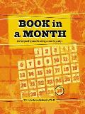 Book in a Month The Fool Proof System for Writing a Novel in 30 Days With Stickers