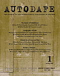 Autodafe 1: The Journal of the International Parliament of Writers