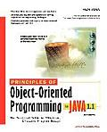 Principles of Object-Oriented Programming in Java 1.1: The Practical Guide to Effective, Efficient Program Design