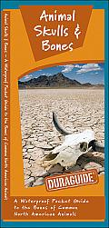 Animal Skulls & Bones: A Waterproof Pocket Guide to the Bones of Common North American Animals (Duraguide)