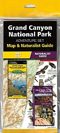 National Geographic Grand Canyon National Park Adventure Set Map & Naturalist Guide