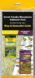 Great Smoky Mountains National Park Adventure Set: Map & Naturalist Guide