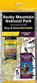 Rocky Mountain National Park Adventure Set: Map & Naturalist Guide
